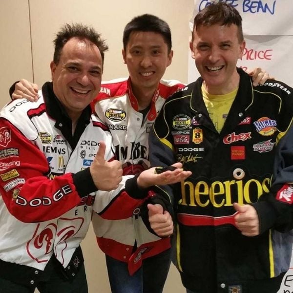 Left to Right - Luce Chandon, Kin Lok Wong and Trevor Knoll