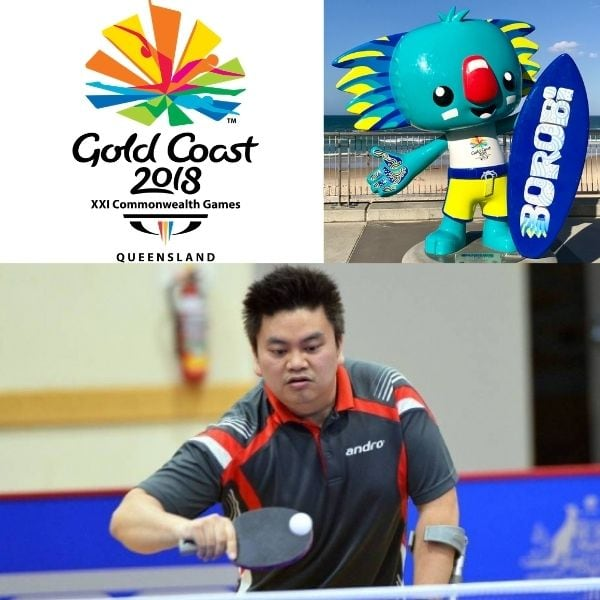 Sy Pham sponsored by Semantia for Commonwealth Games para table tennis