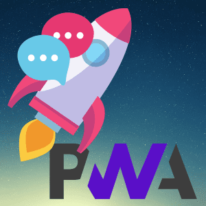 Rocket Chat as a PWA app